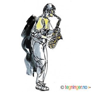 Saksofonist – MUSIKK