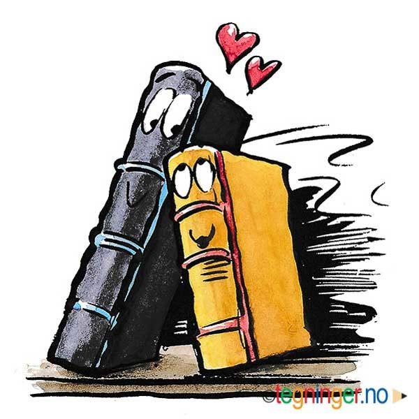 Kjærlighets bøker - BOK