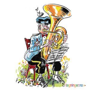 Tuba musikant – MUSIKK