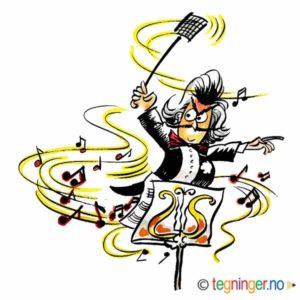 Dirigent med fluesmekker – MUSIKK