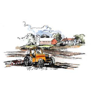 Landbruk pløying – NÆRINGSLIV