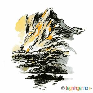 Fjell landslap – NATUR