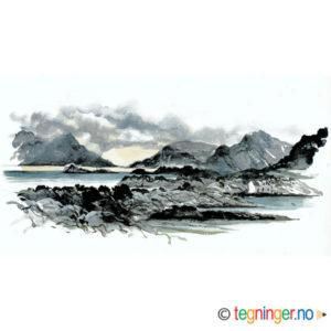 Legg i huskelisten Landskap fra Lofoten – KLASSIKER