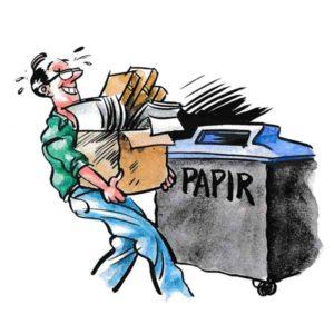 Papirinnsamling – MILJØ