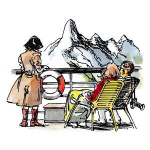 Norske fjell sett fra dekket – REISEMÅL