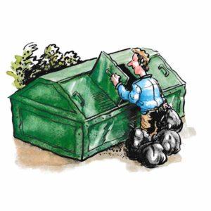 Søppelkontieiner – MILJØ