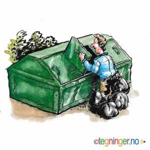 Søppelkontieiner - MILJØ