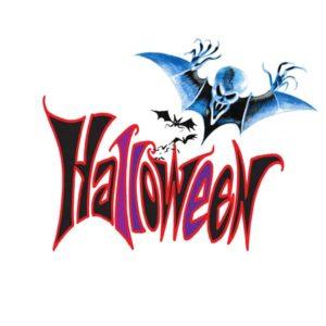 Halloween skrift 4 - HALLOWEEN