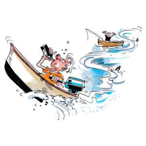 SOMMER- Beruset i båt