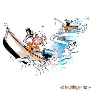 Beruset i båt – SOMMER