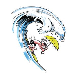 Surfebølge - SOMMER