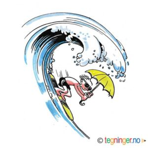 Surfebølge – SOMMER