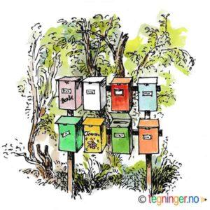 Postkasser – SOMMER