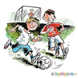 Gutter spiller fotball – SPORT