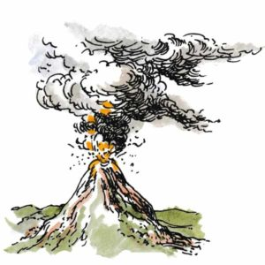 Vulkanutbrudd – NATUR