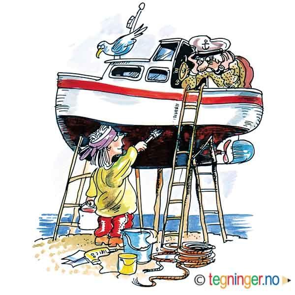 Båtpuss – PÅSKE