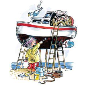 Båtpuss - PÅSKE