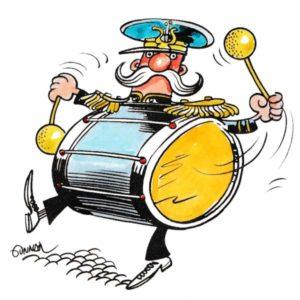 Trommeslager - BEGIVENHETER