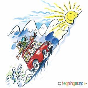 Bil til fjells – PÅSKE