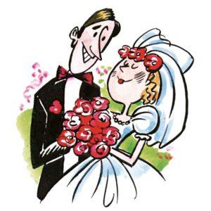Bryllup – BEGIVENHETER