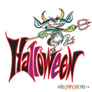 Halloween skrift 3 - HALLOWEEN