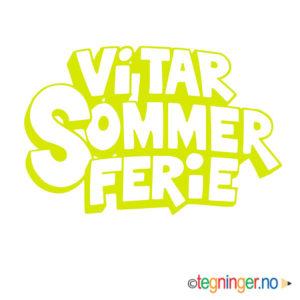 Vi tar sommer ferie 2 - SKILT