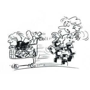 Barn i butikken - SITUASJONER