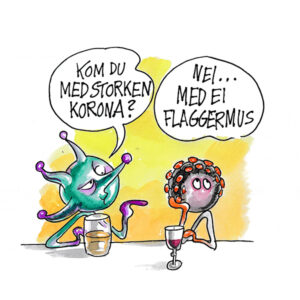 Flaggermus - KORONA