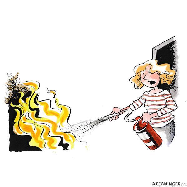 Slukke brann - SITUASJONER