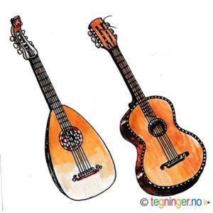 Mandolin og gitar – MUSIKK
