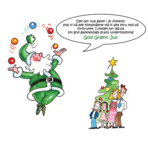 God Grønn Jul - KLIMATEGNINGER