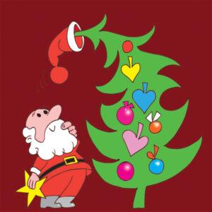 Julenisse og Juletre – JUL