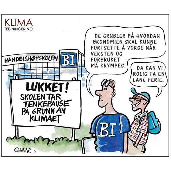 Økonomi og Klima - KLIMA TEGNINGER