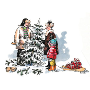 Kjøpe juletre - JUL