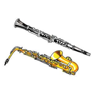 Klarinett og Saxofon – MUSIKK