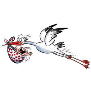 Kom med storken - BEGIVENHETER