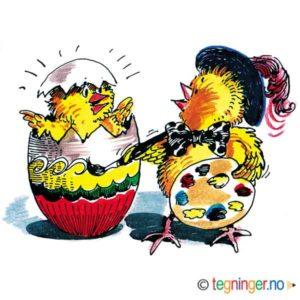 Kunstnerisk kylling – PÅSKE