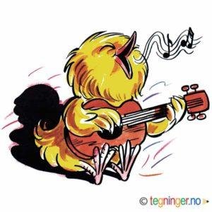 Musikalsk kylling – PÅSKE