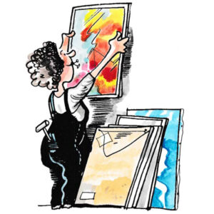 Montering av utstilling – KULTUR