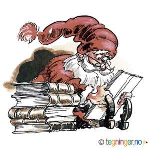 Nisse leser bok – JUL