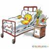 Påskekylling på sykehus – PÅSKE