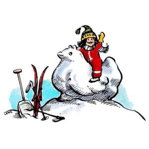 Lek i snøen - PÅSKE