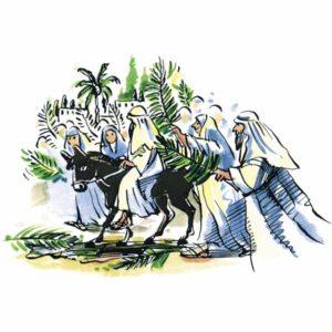 Palmesøndag – PÅSKE