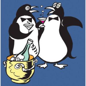 Pingviner på fest - BEGIVENHETER