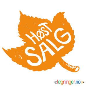 Høst salg - SKILT