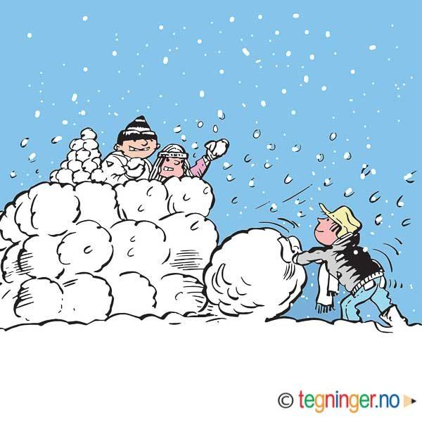 Snøballkrig – VINTER